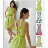 Size 8-18 Women Backless Dresses Sewing Pattern - New Look 6208 /Uncut
