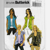 Size 8-14 Women Raglan Sleeves Jackets Butterick B5498 Sewing Pattern Uncut