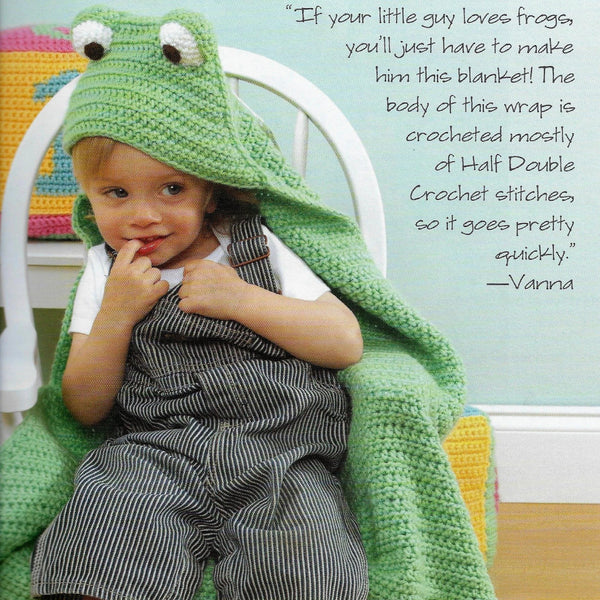 12 Crochet Patterns For Babies and Toddlers Giggles & Grins /Leisure Arts