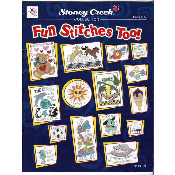 Fun Stitches Cross Stitch Patterns, Stoney Creek Book 285