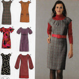 Sizes 12-20 Simplicity 2846 Easy Dresses Sewing Pattern /Uncut