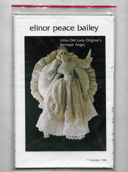 Elinor Peace Bailey Doll Sewing Craft Pattern, Baroque Angel, Little Old Lady Original's / Uncut