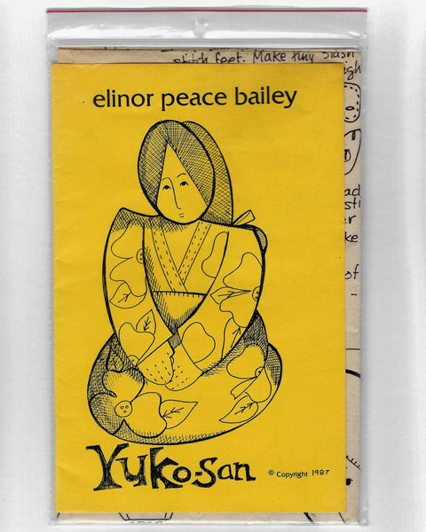 Elinor Peace Bailey Japanese Doll, Yuko-Son, Sewing Pattern, Vintage 1980s / Uncut