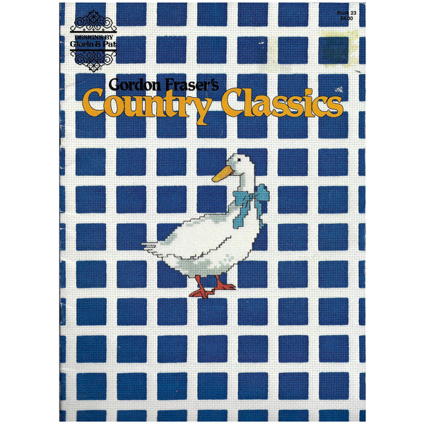 Gordon Fraser's Country Classics - 8 Designs - Sea Bird, Goose, Duck, Swan - Book 23