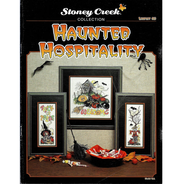 Haunted Hospitality Halloween Cross Stitch Pattern #83