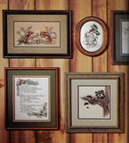 Vintage 80s Animals Cross Stitch Patterns, In the Woods - Fox, Raccoon, Mice, Chipmunk, Owl, Birds & More