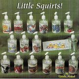 16 Cross Stitch Designs for Little Squirt Bottles, Weekend Projects #210