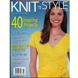 Knit 'n Style August 2010 Back Issue 168 Magazine - 40 Patterns for Inspiring Projects