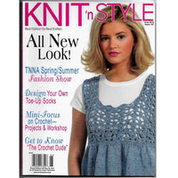 Knit 'n Style June 2010 Back Issue 167 Magazine - Mini-Focus on Crochet - 24 Patterns