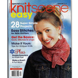 Knit Scene Easy Special 2010 Back Issue Magazine - 28 Projects Patterns