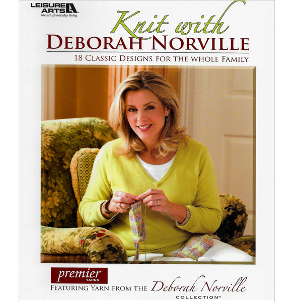18 Knit Patterns for the Family - Knit with Deborah Norville Book