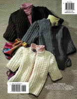 Learn to Knit Sweater Book with Pullover and Cardigan Sweaters Patterns