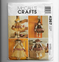 Peaceful Angels McCalls Crafts 4267 Sewing Pattern