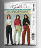 Size 8-10-12-14, Learn to Sew Perfect Fit Pants, McCalls M 5239 Sewing Pattern, Uncut
