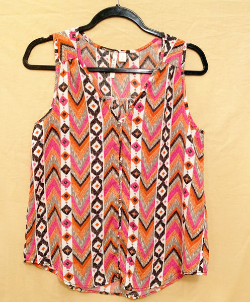 Small, Mi Ami Sleeveless Blouse