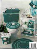 Sweet Magnolia Bath Set Crochet Patterns, Annie's Attic 8B070