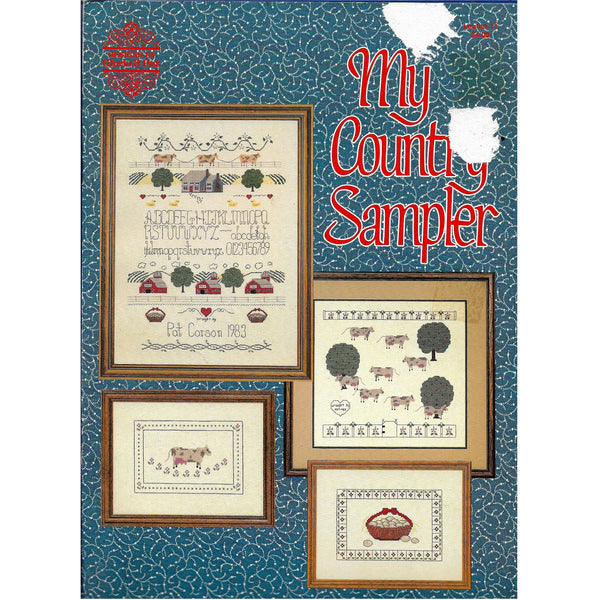 My Country Sampler - Vintage 1980's Counted Threads Cross Stitch Patterns