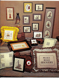 Country Graphs Book 1- 19 Cross Stitch Designs -Vintage 1970s