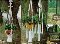 Vintage Macrame Unlimited Patterns for Plant Hangers and More