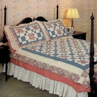 Vintage Morning Star Quilts and Pillows Patterns - Quilt In A Day Series