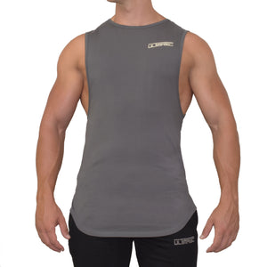 CURVED CUT OFF TANK - CLAY - Ultimate Perfection