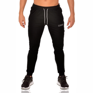 PANELLED CUFFED BOTTOMS V2 - BLACK - Ultimate Perfection