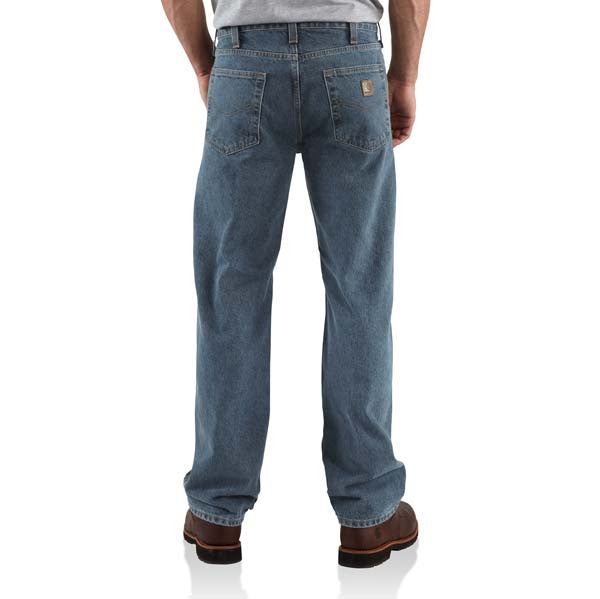 Carhartt Traditional Fit Straight Leg Jean - Deepstone (B480-DPS)