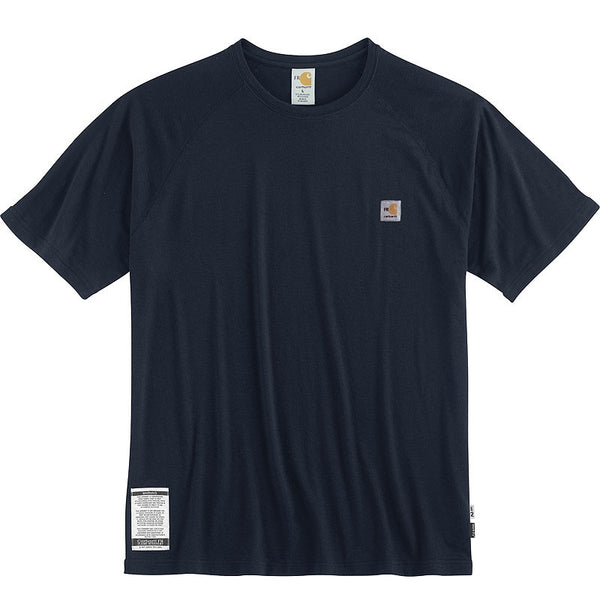 Carhartt FR Force Short Sleeve T-Shirt - Dark Navy (FRK008-DNY)
