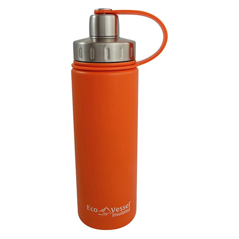 Eco Vessel Boulder 20 oz Insulated Water Bottle - Orange (EVBLD20OG)