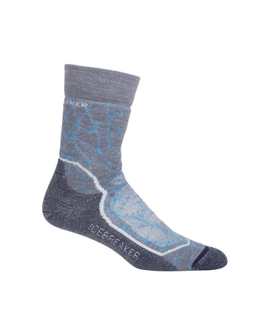 Icebreaker Womens Medium Cushion Hike Crew Socks (103711-001)