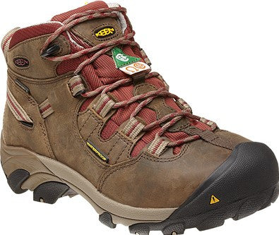 Keen Womens Oshawa Mid Waterproof Work Boot (1009050)