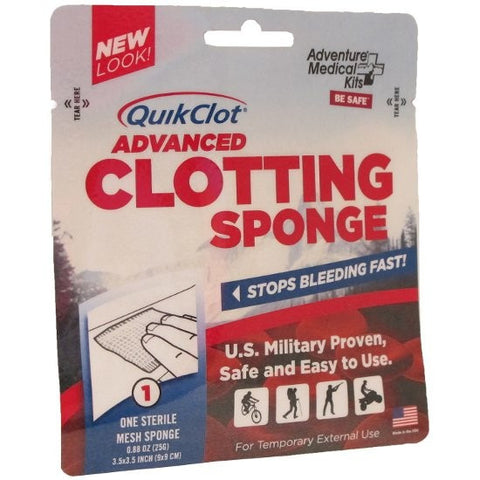 Adventure Medical Kits QuikClot Advanced Clotting Sponge 25g. (0275-0130-0)