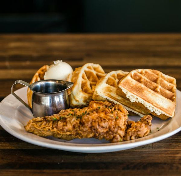 Chicken and Waffles Brunch Meal Instructions