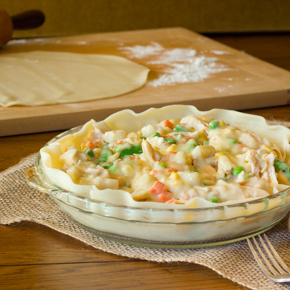 Chicken Pot Pie Assembly Instructions