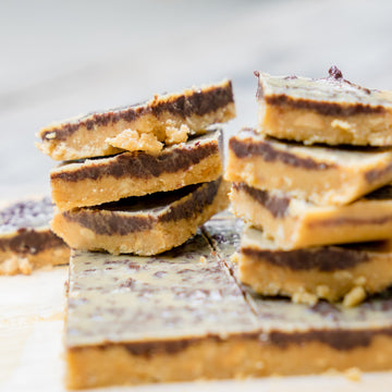 Dessert of the Week - August 17-21, 2020 - Peanut Butter Chocolate Squares with Graham Cracker Crumble
