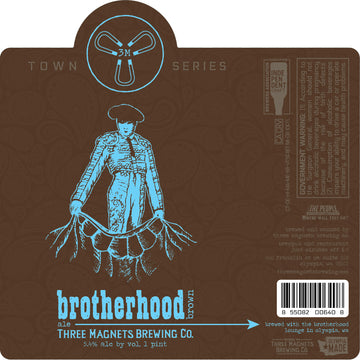 NEW: Brotherhood Brown - 4-Pack, 16oz. Cans