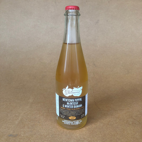 Whitewood Cider Newtown Pippin, McIntosh & Winter Banana - 500ml