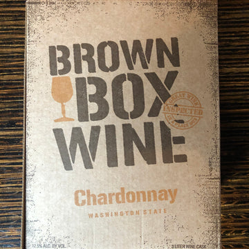 Brown Box Wine - White, 3 Liter