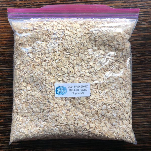 Old Fashioned Rolled Oats, Bob's Red Mill - 3lb. bag