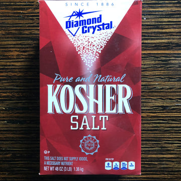 Kosher Salt - 3lb. Box LIMIT 1 PER ORDER!
