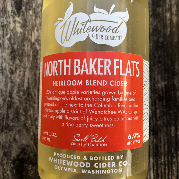 Whitewood Cider North Baker Flats - 500ml
