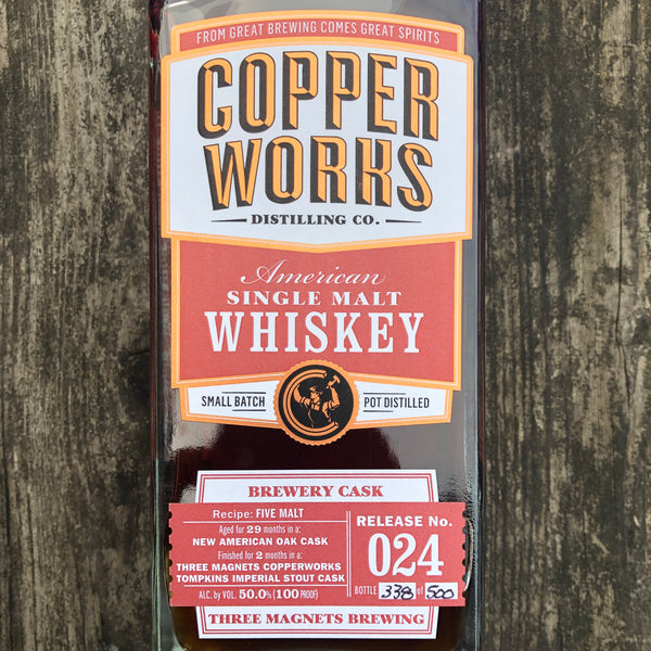 Copperworks Three Magnets Collaboration Whiskey - 750ml