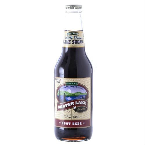 Crater Lake Root Beer - 4pack/12oz Bottles