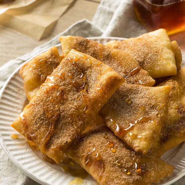 Humpday Dessert for four - May 6, 2020 - Cinnamon Caramel Sopapillas