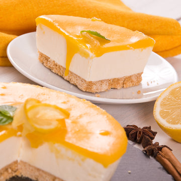 Weekly Dessert - May 10-14- Cheesecake with Meyer Lemon Curd
