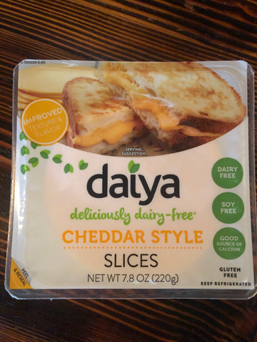 Daiya Vegan Cheddar Style Slices - 7.8 ounce