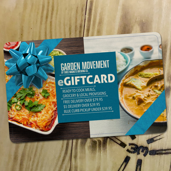 Garden Movement eGiftcard!