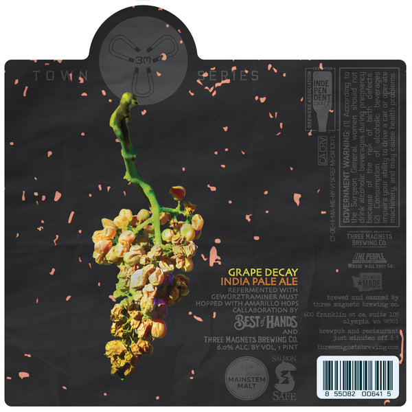 Grape Decay IPA -  4-Pack, 16oz. Cans