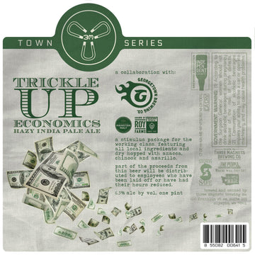 Trickle Up Economics Hazy IPA 4-Pack, 16oz. Cans
