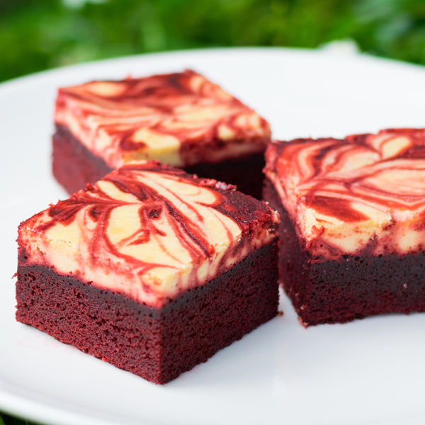 Weekly Dessert - Nov 9-13, 2020 - Red Velvet Brownies